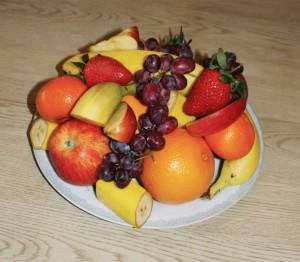 Lekkert fruktfat eller...
